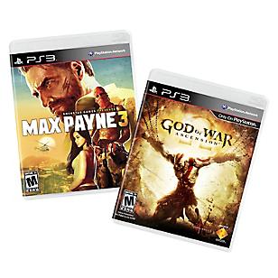 Videojuegos PS3 God of War: Ascension + Max Payne 3