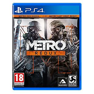 Videojuego PS4 Metro Redux