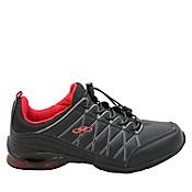 Zapatillas Running Mujer Peace Negro Rojo