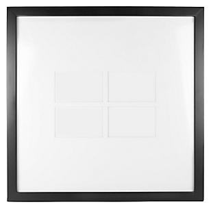 Marco de Foto MDF Negro 57.8 x 57.8 cm