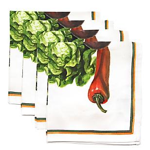 Servilleta Verduras 45 x 45 cm