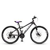 Bicicleta Montañera Aro 26 Negro/Lila