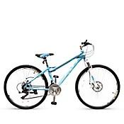 Bicicleta Montañera Alum. Aro 26 Celeste