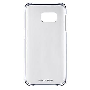 Clear Cover S7 Negro