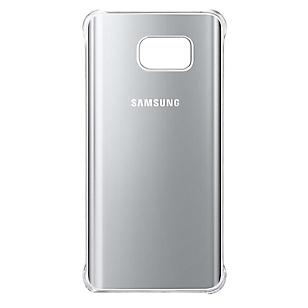 Clear Cover Galaxy Note 5 Silver