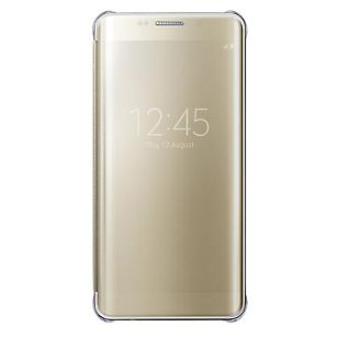 Clear View Cover Galaxy S6 Edge Plus Dorado