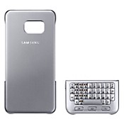 Teclado Cover Galaxy S6 Edge Plus Silver