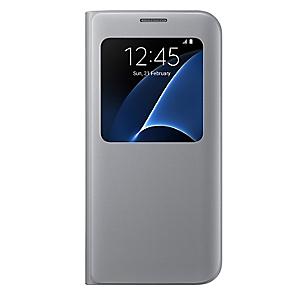 Cover S View Galaxy S7 Edge Silver