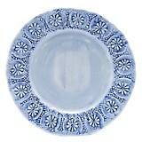 PLATO ENSALADA 23CM FLORES BLUE