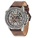 Reloj Análogo H Campton Marrón