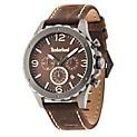 Reloj Análogo H Cue Warner Marrón