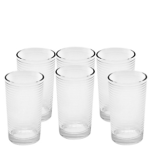Set de Vasos Rayas x 6 Piezas