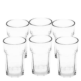 Set de Vasos Tableados  x 6 Piezas