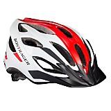 Casco para Montar Bicicleta Solstice Blanco y Rojo