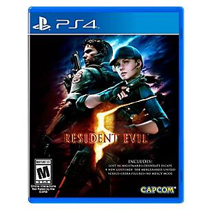 Videojuego para PS4 Resident Evil 5 HD