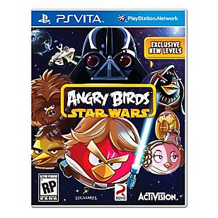 Videjuego para PS Vita Angry Birds Star Wars