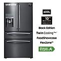 Refrigeradora 600 lt RF28JBEDBSG/PE Negro Inox
