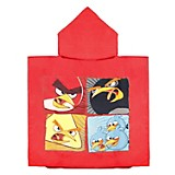 Toalla Poncho Angry Birds