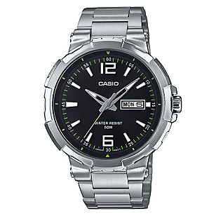 Reloj Acero Hombre MTP-E119D-1A