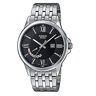 Reloj Acero Hombre MTP-E125D-1A