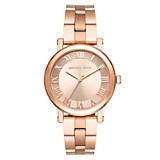 Reloj Mujer Acero Oro Rosa