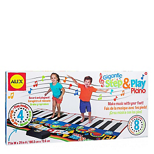 Tapete Gigante para Tocar el Piano
