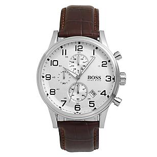 Reloj Hombre de Cuarzo Marrón