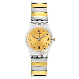 Reloj Mujer de Cuarzo Plateado - Dorado