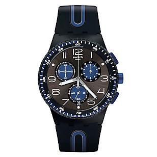 Reloj Hombre de Cuarzo Negro