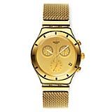 Reloj Unisex de Cuarzo Dorado