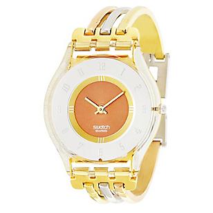 Reloj Mujer de Cuarzo Dorado