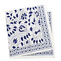 Set Servilleta Azulejos x 4 Piezas