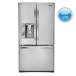 LG Refrigeradora 697 lt GM86SDSB Inox