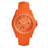 Reloj Hombre Resina Naranja