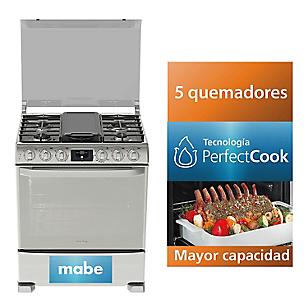 Mabe Cocina 5 Hornillas EME7688CFYX0 30