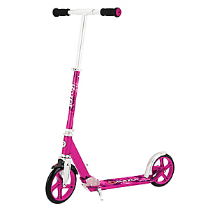 Scooter A5 Lux Kick Rosado