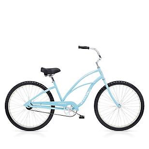 Bicicleta Cruiser 1 Mujer Celeste