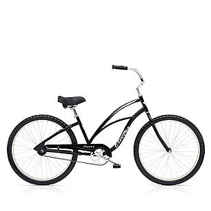 Bicicleta Cruiser 1 Mujer Negro