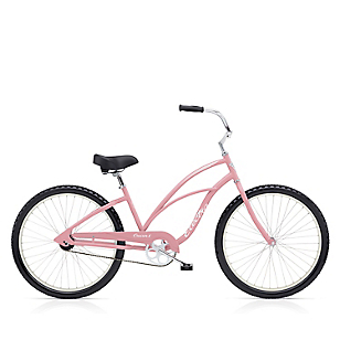 Bicicleta Cruiser 1 Mujer Rosado