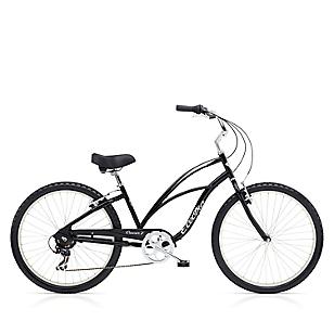 Bicicleta Cruiser 7 D Mujer Negro