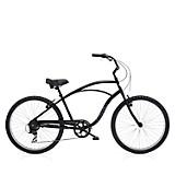 Bicicleta Cruiser 7 D Hombre Negro
