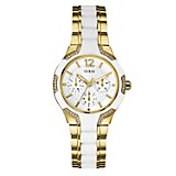 Reloj Mujer Acero Blanco