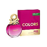 Fragancia Mujer Colors Pink EDT 80 ml