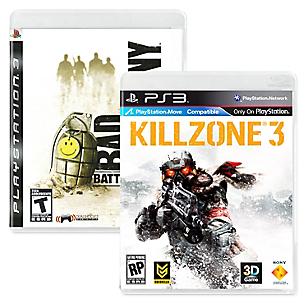 Videojuegos PS3: Killzone 3 + Battlefield: Bad Company