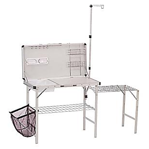 Mesa - Cocina Plegable de Aluminio