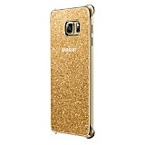 Funda Glitter Cover Galaxy S6 Edge Dorado
