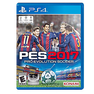 Videojuego para PS4 Pro Evolution Soccer PES17