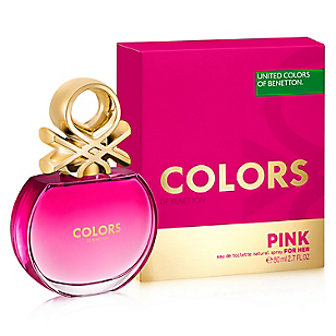 Fragancia Df Colors Pink Her  30 ml