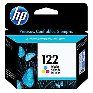 HP Tinta 122 CH562HL Tricolor