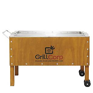 Grill Corp Caja china Grande Inoxidable Modelo Home